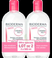 Crealine Ts H2o Solution Micellaire Sans Parfum Nettoyante Apaisante 2fl/500ml à Concarneau