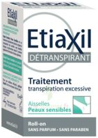 Etiaxil Aisselles Détranspirant Peau Sensibles Roll-on/15ml à Concarneau