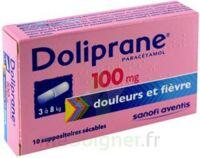 Doliprane 100 Mg Suppositoires Sécables 2plq/5 (10) à Concarneau