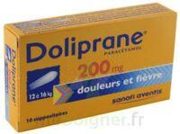 Doliprane 200 Mg Suppositoires 2plq/5 (10) à Concarneau
