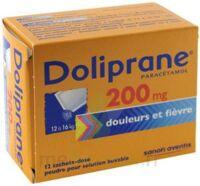 Doliprane 200 Mg Poudre Pour Solution Buvable En Sachet-dose B/12 à Concarneau