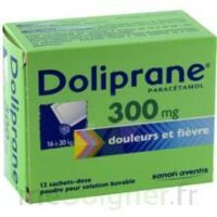 Doliprane 300 Mg Poudre Pour Solution Buvable En Sachet-dose B/12 à Concarneau