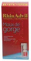 Rhinadvil Maux De Gorge Tixocortol/chlorhexidine, Suspension Pour Pulvérisation Buccale à Concarneau