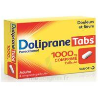 Dolipranetabs 1000 Mg Comprimés Pelliculés Plq/8 à Concarneau