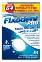 Fixodent Pro Comprimés Nettoyant Fraîcheur Longue Durée pour Prothèse Dentaire B/54 à Concarneau