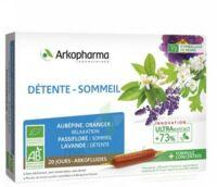 Arkofluide Bio Ultraextract Solution Buvable Détente Sommeil 20 Ampoules/10ml à Concarneau