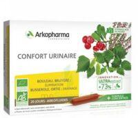 Arkofluide Bio Ultraextract Solution Buvable Confort Urinaire 20 Ampoules/10ml à Concarneau