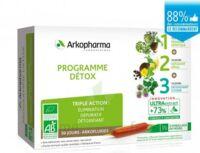Arkofluide Bio Ultraextract Coffret programme détox 3x10 Ampoules/10ml à Concarneau