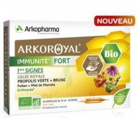 Arkoroyal Immunité Fort Solution Buvable 20 Ampoules/10ml à Concarneau