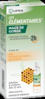 Les Elementaires Solution Buccale Maux De Gorge Adulte 30ml à Concarneau