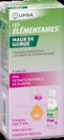 Les Elementaires Spray Buccal Maux De Gorge Enfant Fl/20ml à Concarneau