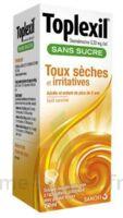 Toplexil 0,33 Mg/ml Sans Sucre Solution Buvable 150ml à Concarneau