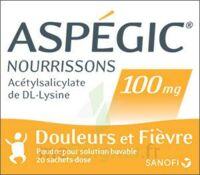 Aspegic Nourrissons 100 Mg, Poudre Pour Solution Buvable En Sachet-dose à Concarneau