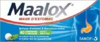 Maalox Hydroxyde D'aluminium/hydroxyde De Magnesium 400 Mg/400 Mg Cpr à Croquer Maux D'estomac Plq/40 à Concarneau