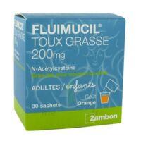 Fluimucil Expectorant Acetylcysteine 200 Mg Sans Sucre, Granulés Pour Solution Buvable En Sachet édulcorés à L'aspartam Et Au Sorbitol à Concarneau
