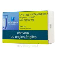 Cystine/vitamine B6 Biogaran Conseil 500 Mg/50 Mg Cpr Pell Plq/120 à Concarneau