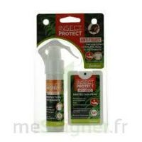 Insect Protect Spray Peau + Spray VÊtements Fl/18ml+fl/50ml à Concarneau