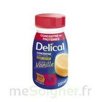 Delical Boisson Hp Hc Concentree Nutriment Vanille 4bouteilles/200ml à Concarneau