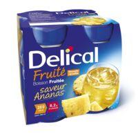Delical Boisson Fruitee Nutriment Ananas 4bouteilles/200ml à Concarneau