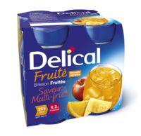 Delical Boisson Fruitee Nutriment Multi Fruits 4bouteilles/200ml à Concarneau