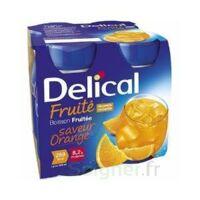 Delical Boisson Fruitee Nutriment Orange 4bouteilles/200ml à Concarneau