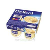 Delical Riz Au Lait Nutriment Vanille 4pots/200g à Concarneau