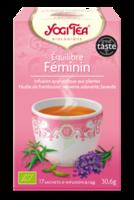 Yogi Tea Tisane Ayurvédique Equilibre Féminin Bio 17 Sachets/1,8g à Concarneau