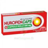 Nurofencaps 400 Mg Caps Molle Plq/10 à Concarneau