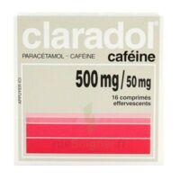 Claradol Cafeine 500 Mg/50 Mg, Comprimé Effervescent à Concarneau