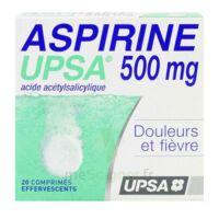 Aspirine Upsa 500 Mg, Comprimé Effervescent à Concarneau