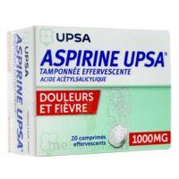 Aspirine Upsa Tamponnee Effervescente 1000 Mg, Comprimé Effervescent à Concarneau