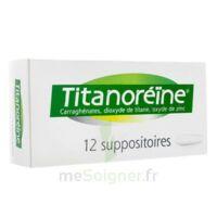 Titanoreine Suppositoires B/12 à Concarneau