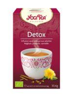 Yogi Tea Tisane Ayurvédique Détox Bio 17 Sachets/1,8g à Concarneau