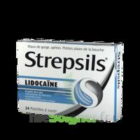 Strepsils Lidocaïne Pastilles Plq/24 à Concarneau