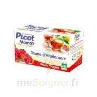 Picot Maman Tisane D'allaitement Fruits Rouges 20 Sachets à Concarneau