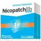 Nicopatchlib 14 Mg/24 H Dispositifs Transdermiques B/28 à Concarneau