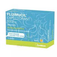 Fluimucil Expectorant Acetylcysteine 600 Mg Glé S Buv Adultes 10sach à Concarneau