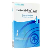 Desomedine 0,1 % Collyre Sol 10fl/0,6ml à Concarneau