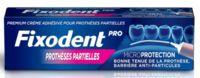 Fixodent Pro Crème Adhésive Pour Prothèse Partielle T/40g à Concarneau