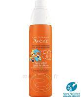 Avène Eau Thermale Solaire Spray Enfant 50+ 200ml à Concarneau