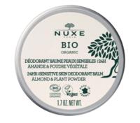 Nuxe Bio Déodorant Baume Fraîcheur 24h Peaux Sensibles Pot/50g à Concarneau